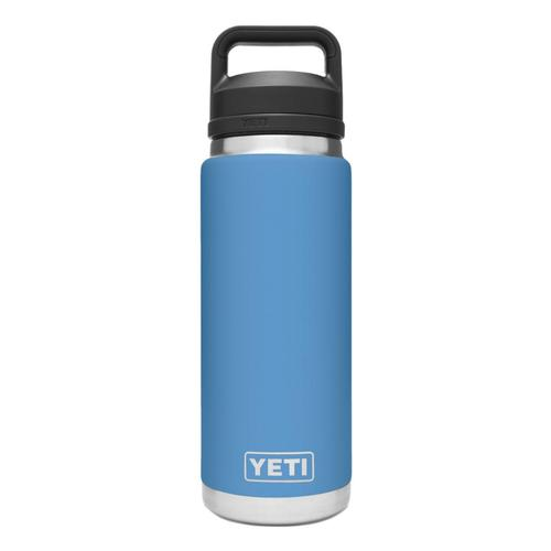 YETI Rambler 26oz Bottle with Chug Cap Pacific_blue