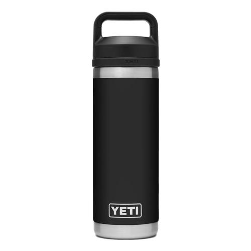 YETI Rambler 18oz Bottle with Chug Cap Black