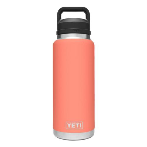 YETI Rambler 36oz Bottle with Chug Cap Coral