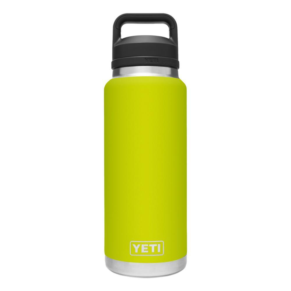 YETI Rambler 36oz Bottle with Chug Cap CHARTREUSE