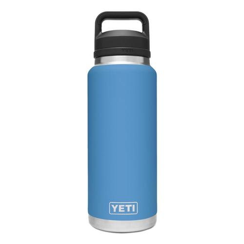 YETI Rambler 36oz Bottle with Chug Cap Pacific_blue