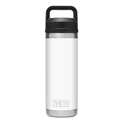 YETI Rambler 18oz Bottle with Chug Cap White