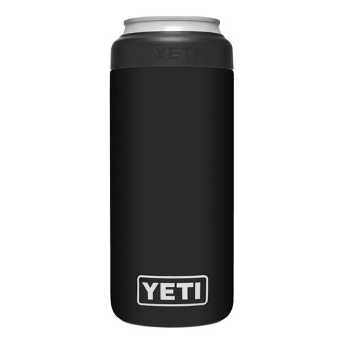 YETI Rambler 12oz Colster Slim Can Insulator Black