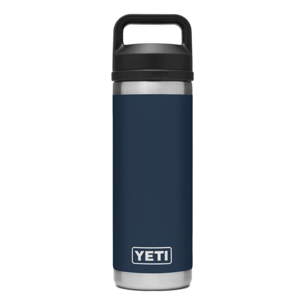 YETI Rambler 18oz Bottle with Chug Cap NAVY