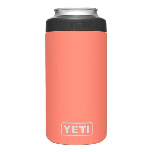 YETI Rambler 16oz Colster Tall Can Insulator Coral