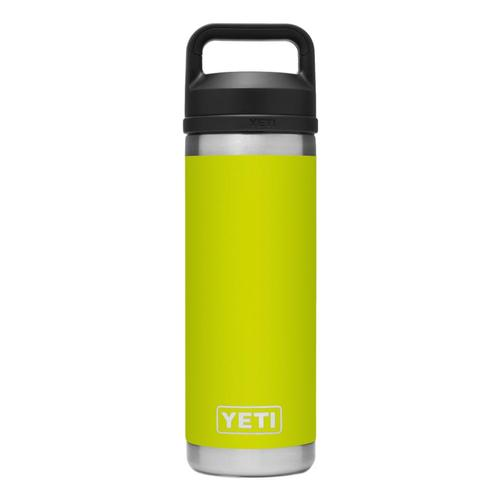YETI Rambler 18oz Bottle with Chug Cap Chartreuse
