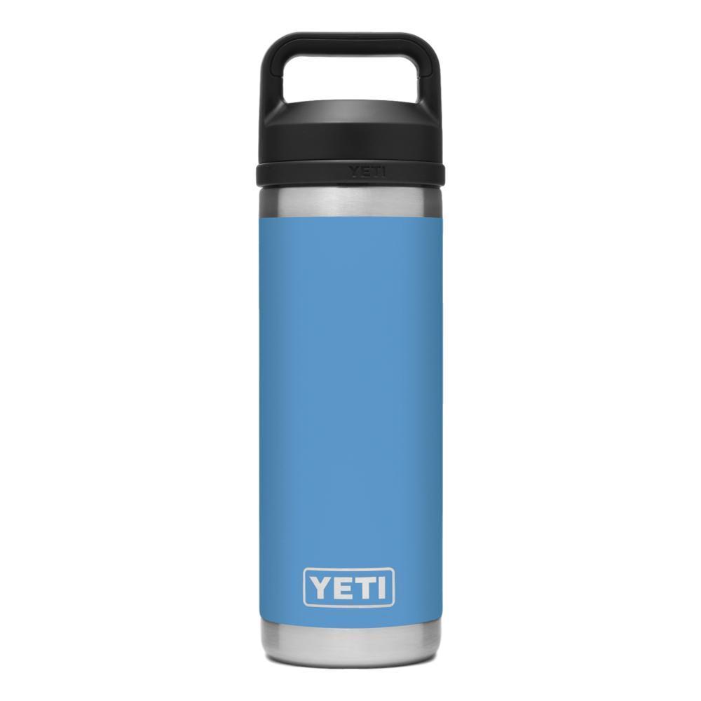 YETI Rambler 18oz Bottle with Chug Cap PACIFIC_BLUE