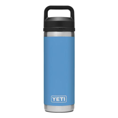 YETI Rambler 18oz Bottle with Chug Cap Pacific_blue