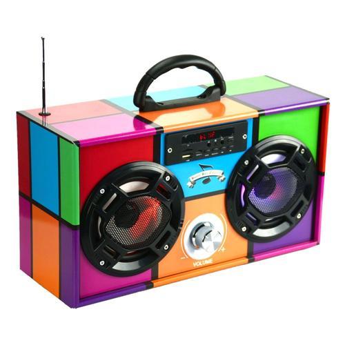 Wireless Express Retro Boombox