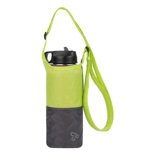 Travelon Packable Water Bottle Tote Lime_gray
