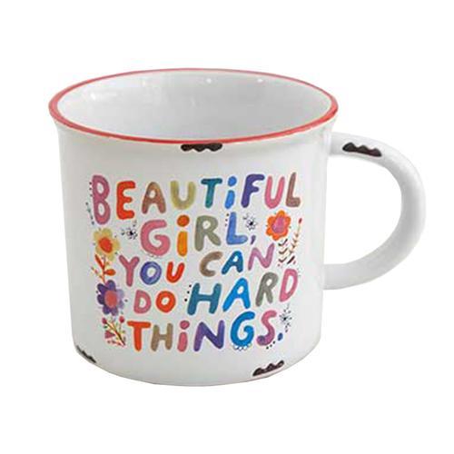 Natural Life Beautiful Girl Mug