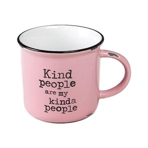 Natural Life Kind People Camp Mug