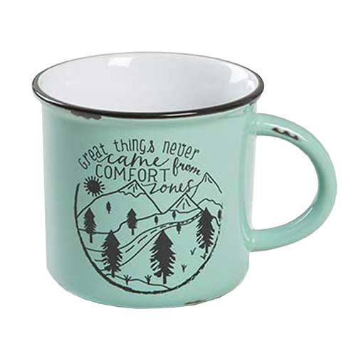 Natural Life Great Things Camp Mug