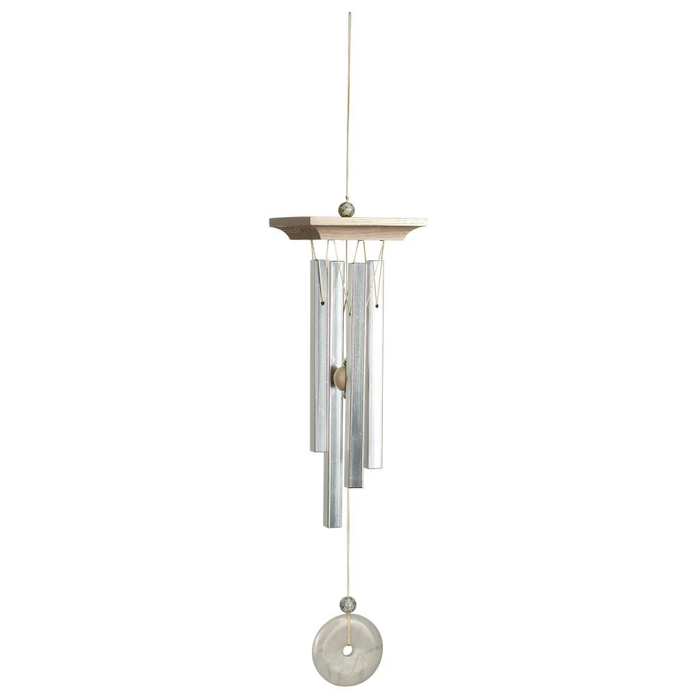 Woodstock Chimes White Marble Chime
