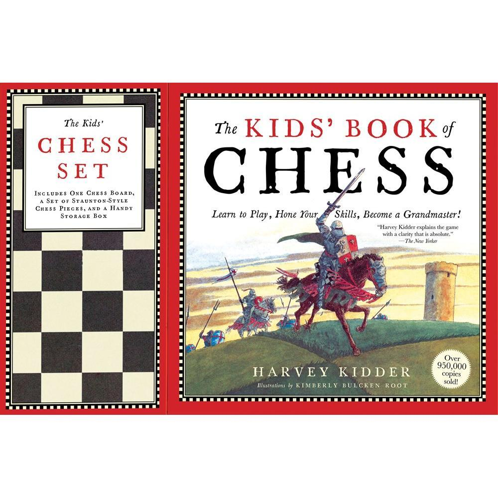 The Kids ' Book Of Chess And Chess Set By Harvey Kidder And Kimberly Bulcken Root
