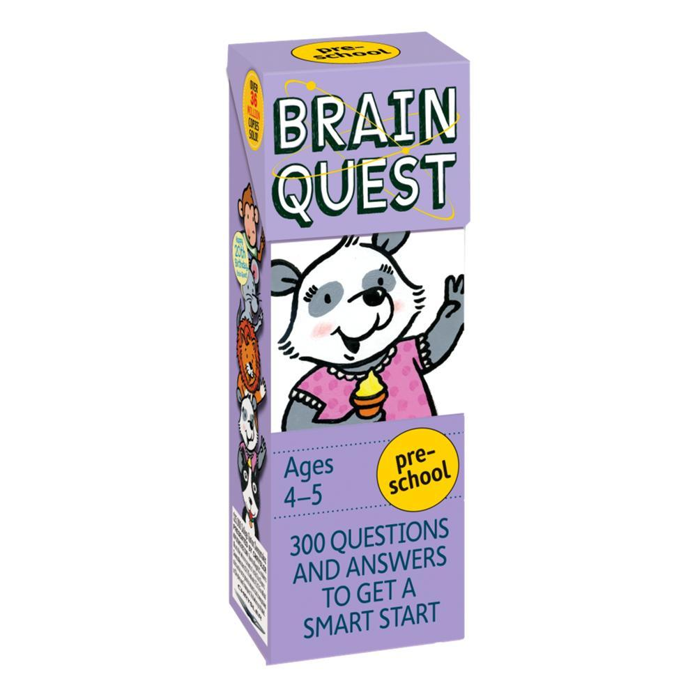 Brain Quest Preschool, Revised 4th Edition By Chris Welles Feder And Susan Bishay