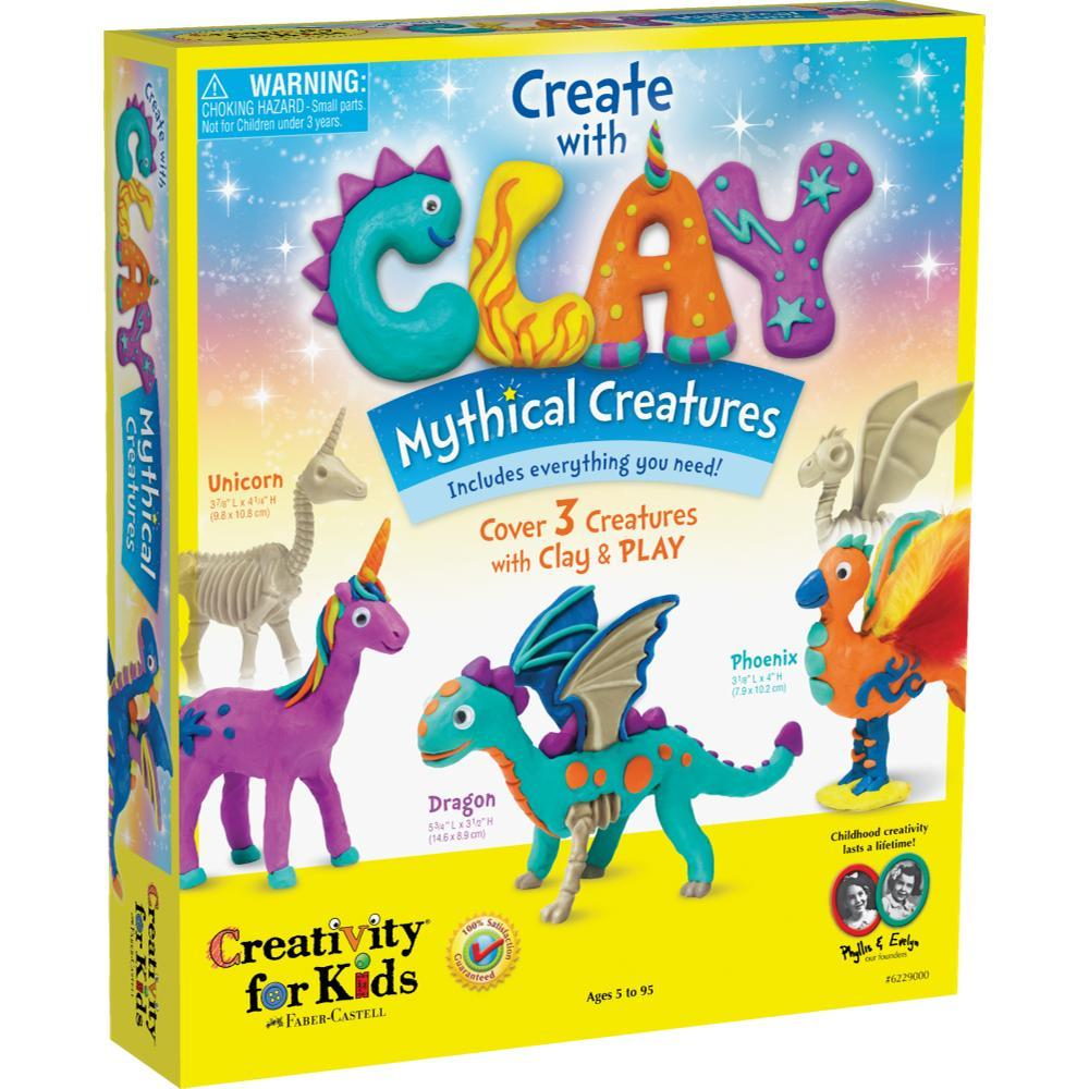Faber- Castell Create With Clay Mythical Creatures