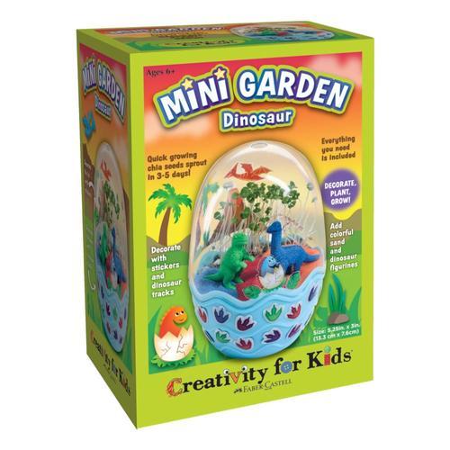Faber-Castell Mini Garden Craft Kit - Dinosaur
