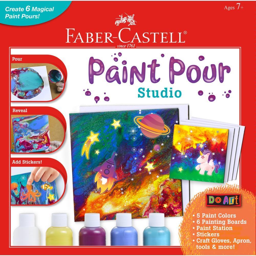Faber- Castell Do Art Paint Pour Studio