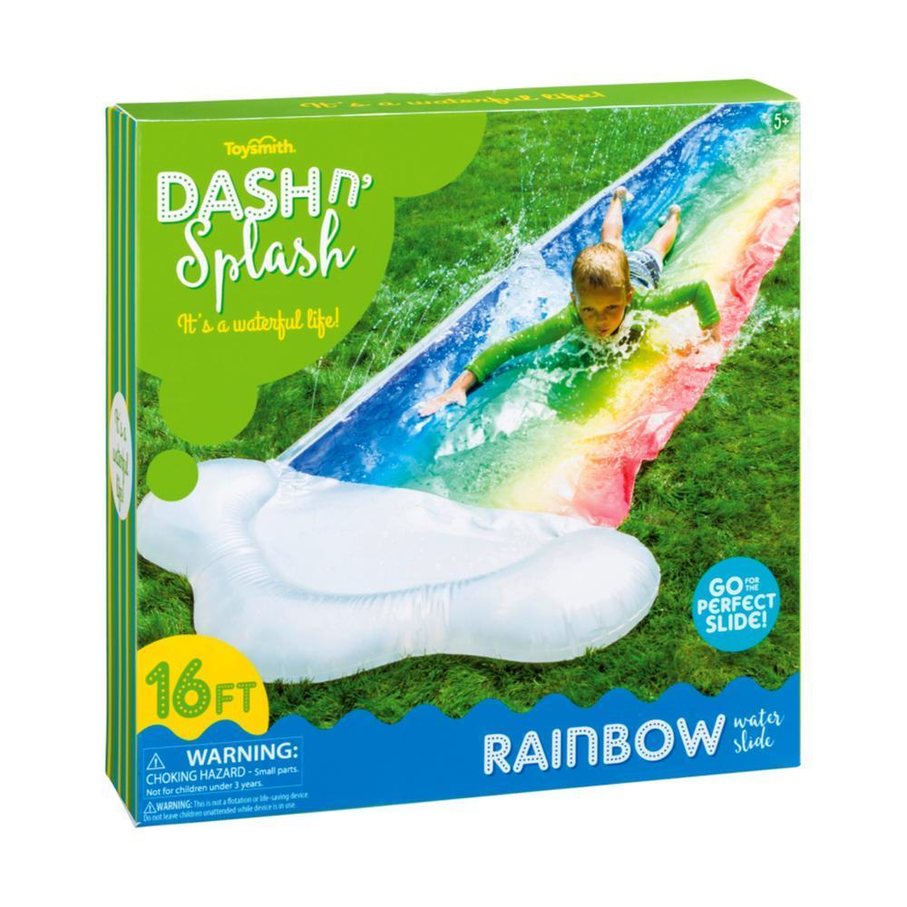 Toysmith Dash N ' Splash Rainbow Water Slide