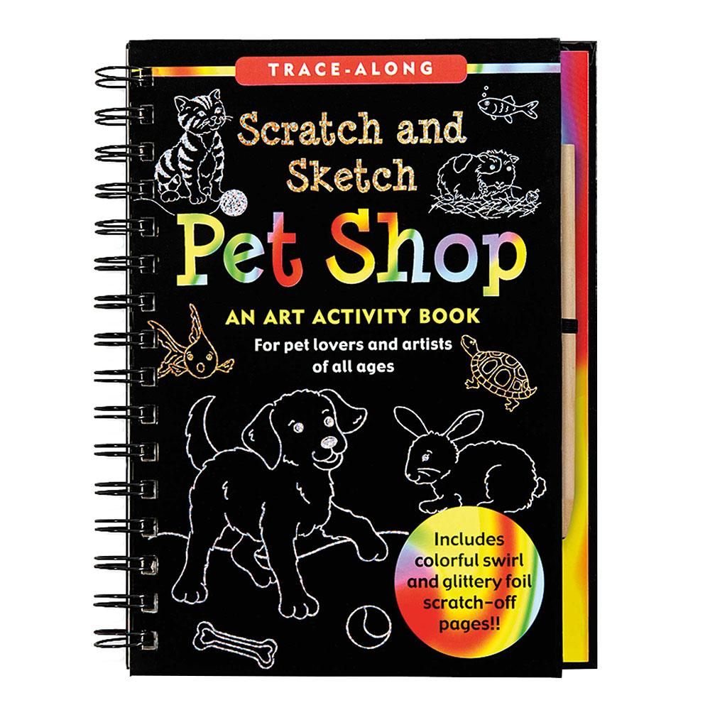 Peter Pauper Press Scratch & Sketch Pet Shop
