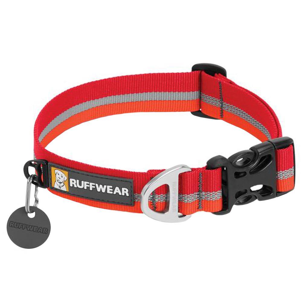 Ruffwear Crag Collar - 20-26in KOKANEE_RED