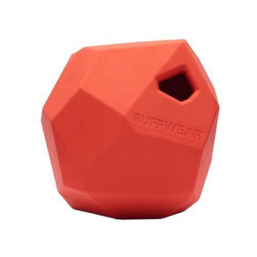 Ruffwear Gnawt-a-Rock Rubber Dog Toy Sockeye_red