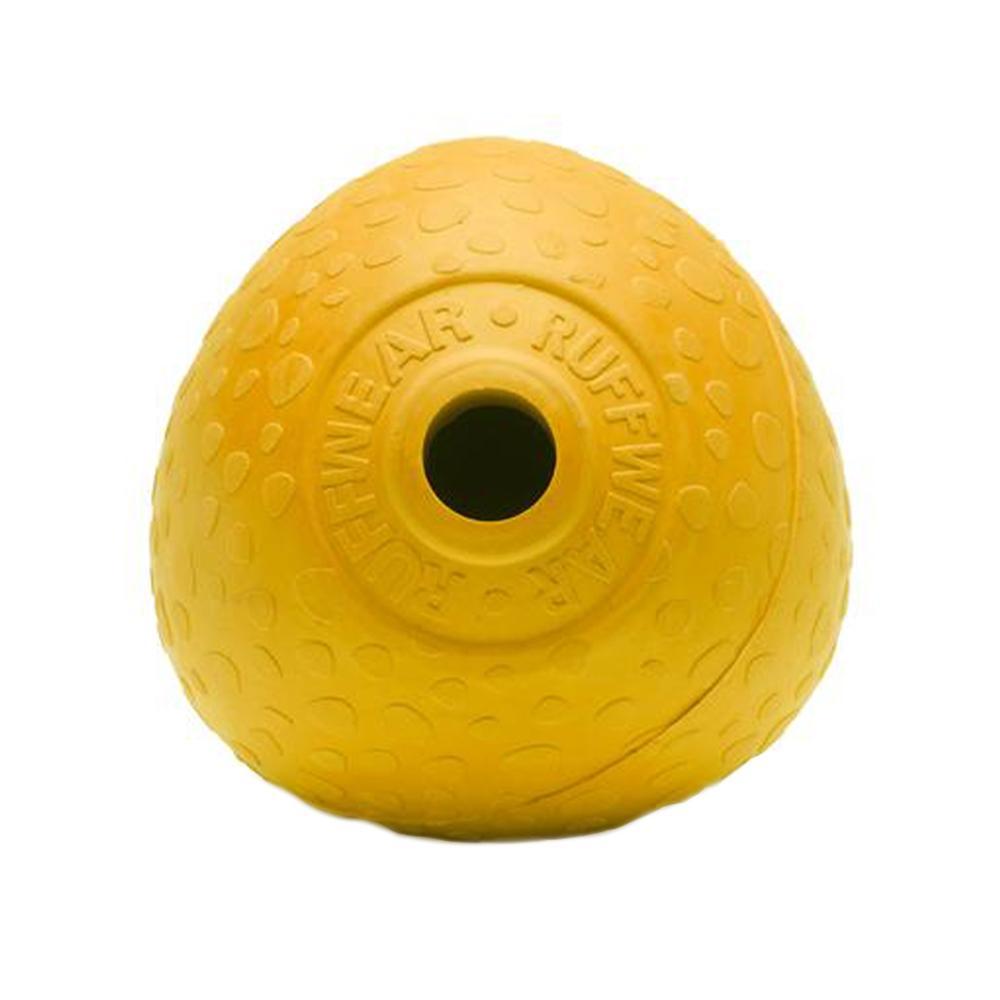 Ruffwear Hukama Rubber Throw Toy DANDELION_YELLOW
