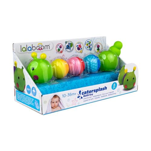 Lalaboom Bath Toy Caterpillar and Beads