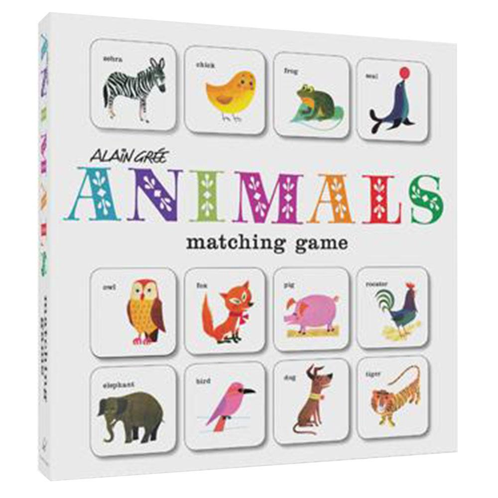 Animals! Matching Game By Bob Barner