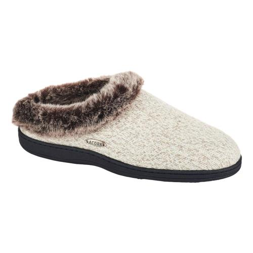 Acorn Women's Faux Fur Chinchilla Ragg Slippers Charchthr