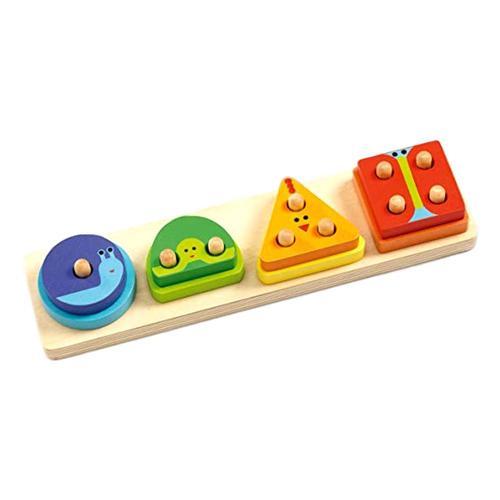 Djeco 1234 Basic Puzzle