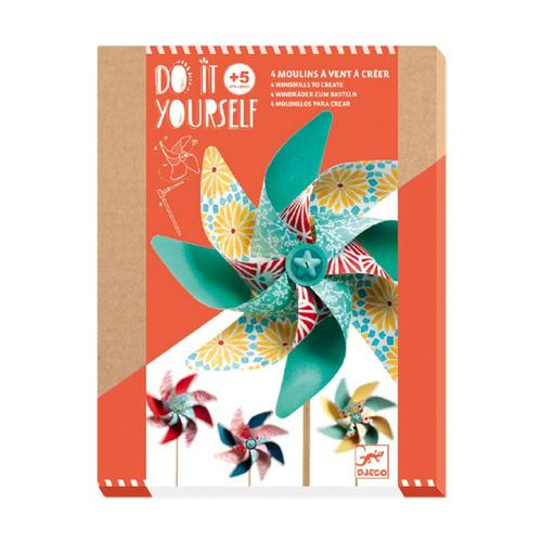Djeco Do It Yourself Sweet Windmills Craft Kit