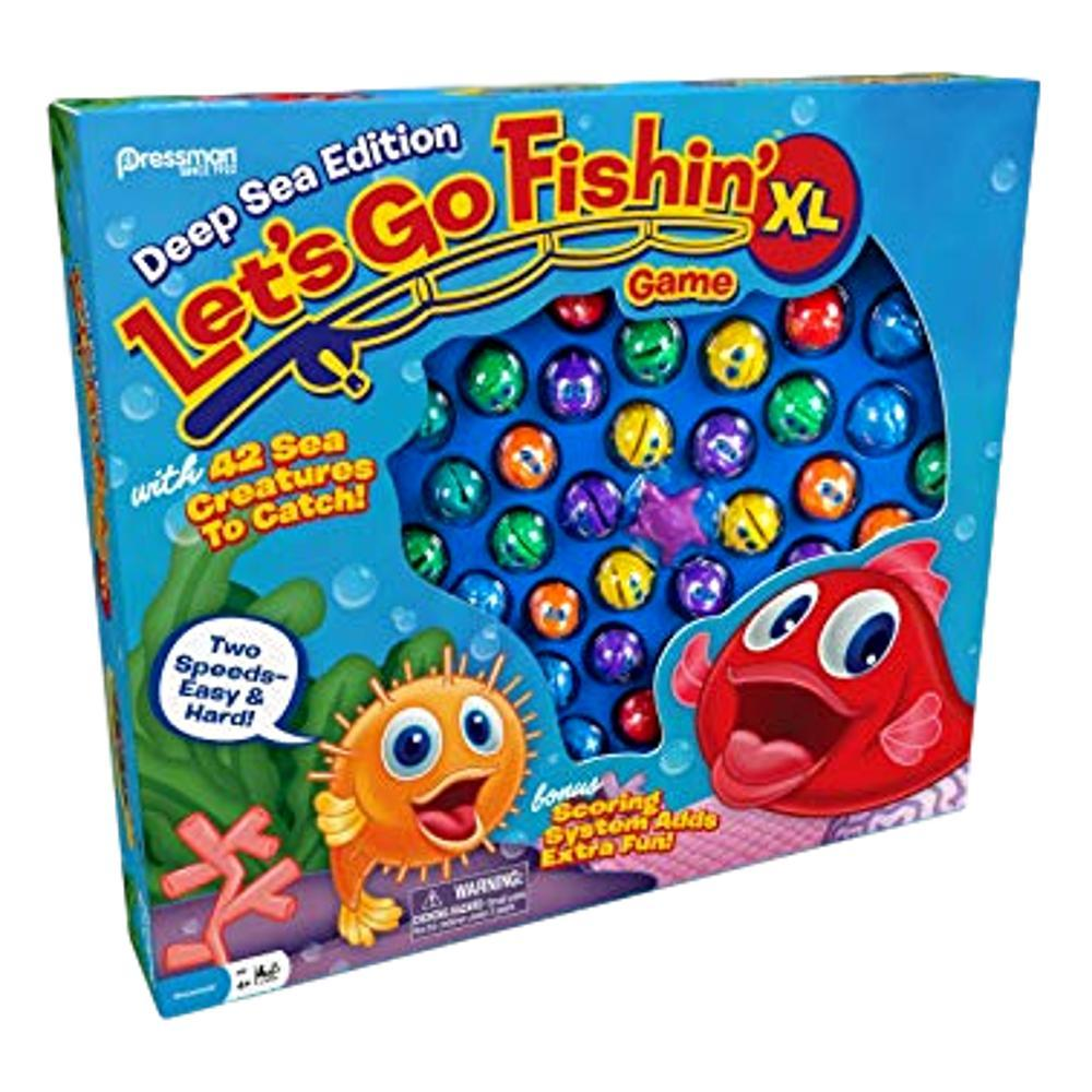 Let's Go Fishin ' Xtra Large Classic Game