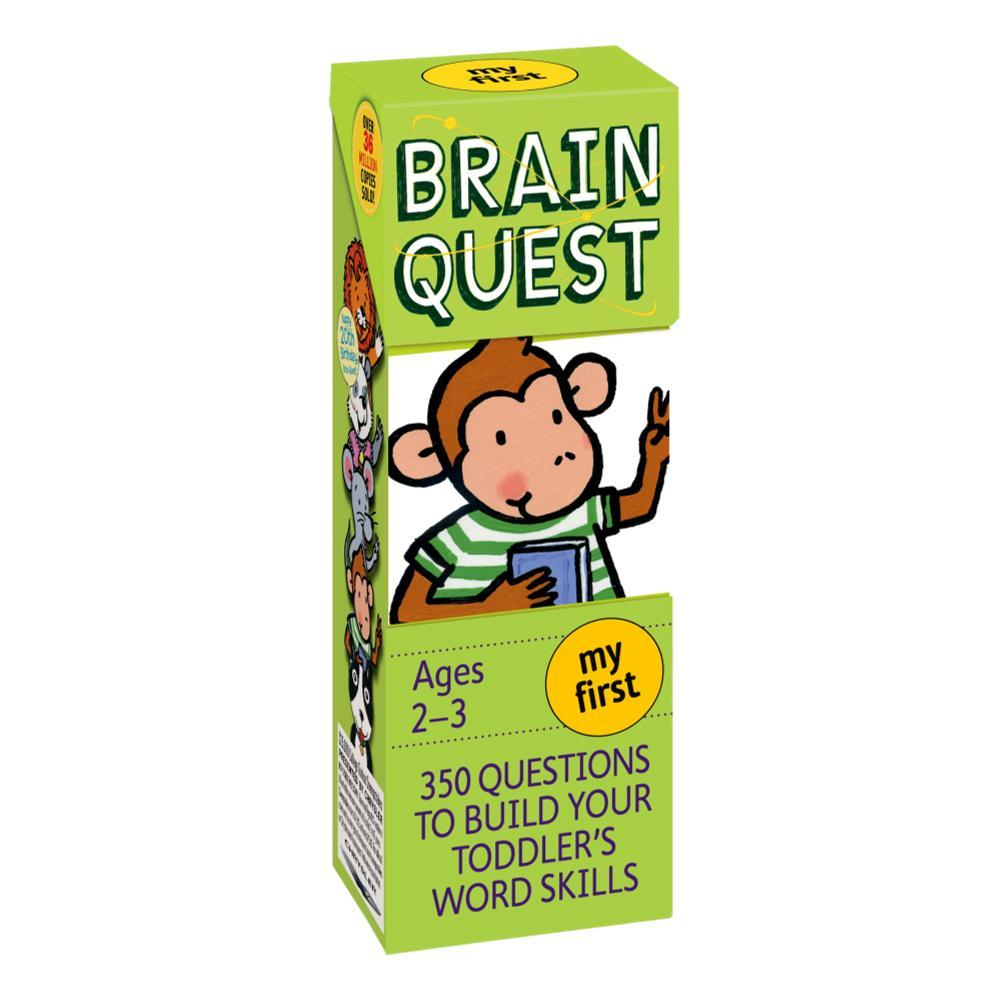 My First Brain Quest, Revised 4th Edition By Chris Welles Feder And Susan Bishay