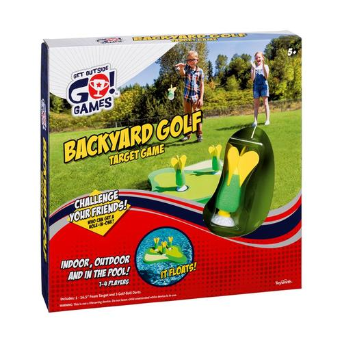 Get Outside, Go! Backyard Golf Target Game