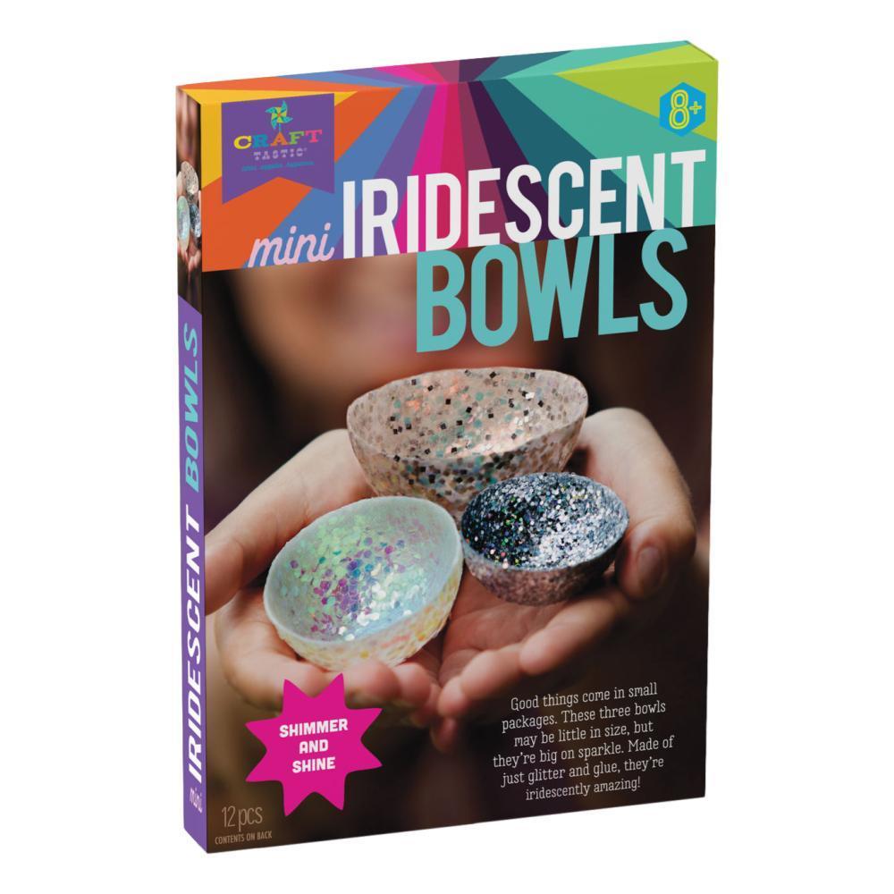 Craft- Tastic Mini Iridescent Bowls