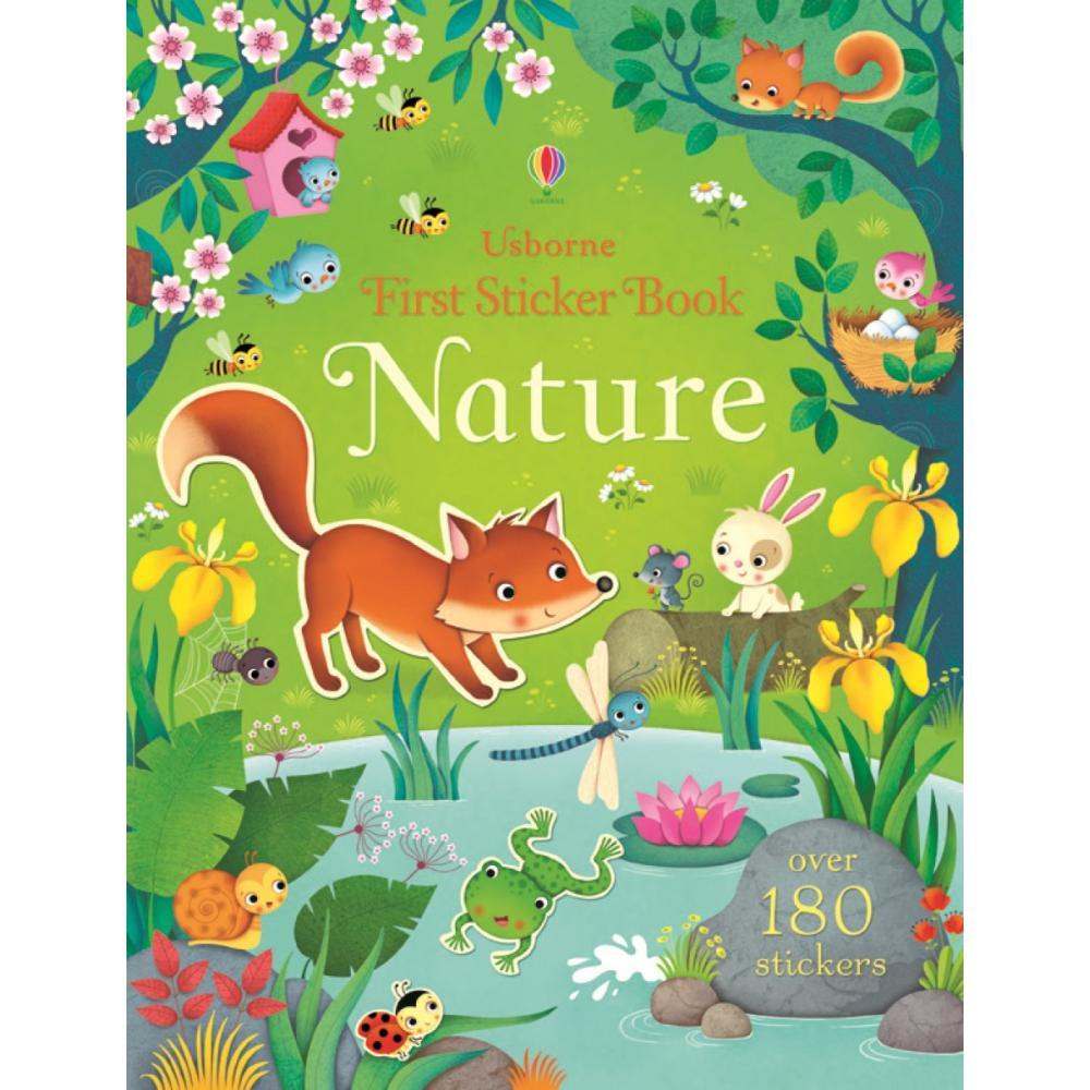 First Sticker Book Nature By Felicity Brooks