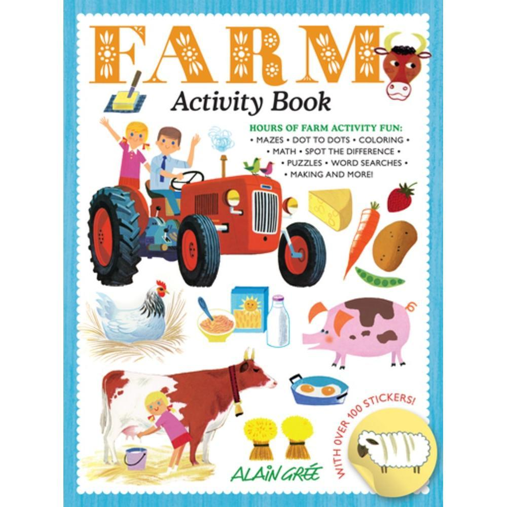 Farm Activity Book By Alain Gree