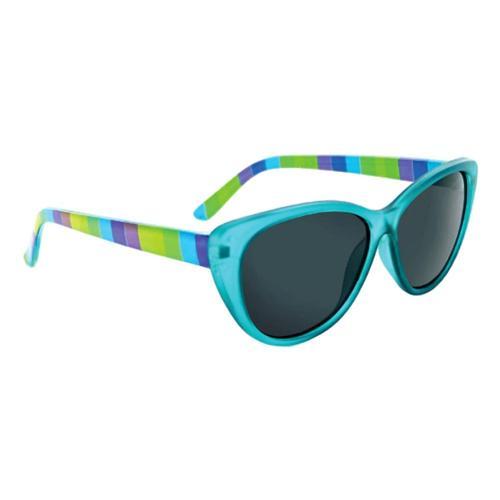 Optic Nerve Eyewear Kids Kitten Sunglasses Teal_smoke