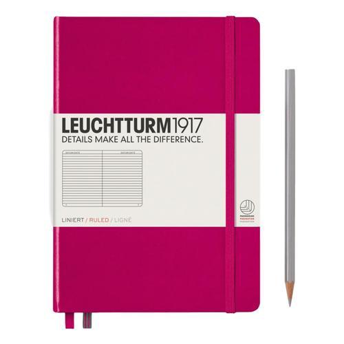 Leuchtturm1917 Hardcover Medium Ruled Notebook Berry
