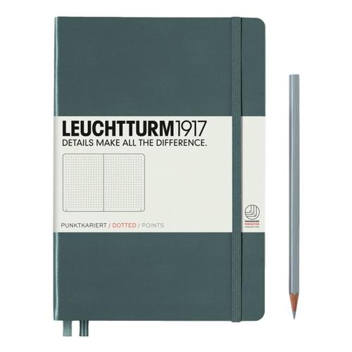 Leuchtturm1917 Hardcover Medium Dotted Notebook Anthracite