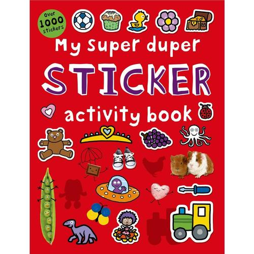 My Super Duper Sticker Activity Book by Roger Priddy