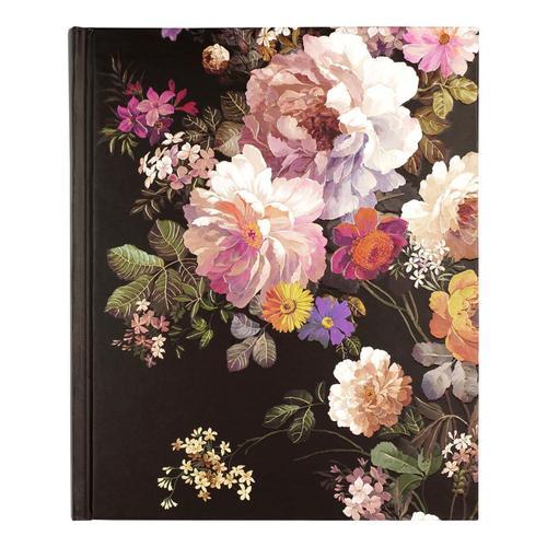 Peter Pauper Press Midnight Floral Journal .