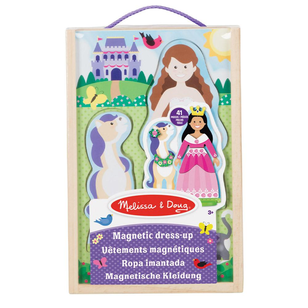 Melissa & Doug Princess Magnetic Dress- Up Play Set