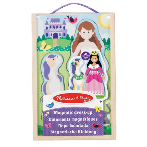 Melissa & Doug Princess Magnetic Dress-Up Play Set