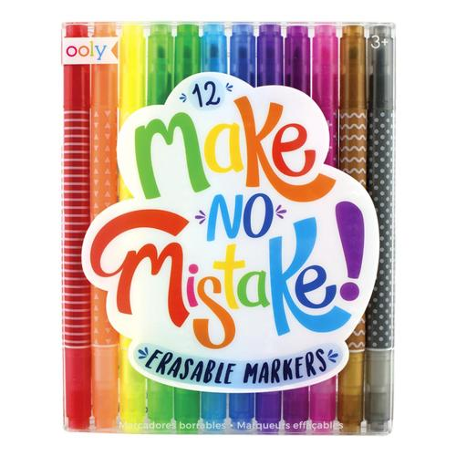 Ooly Make No Mistakes Eraseable Markers Set of 12