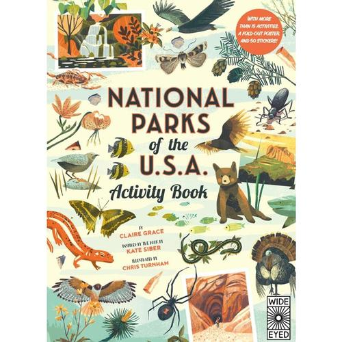 National Parks of the USA: Activity Book by Claire Grace .