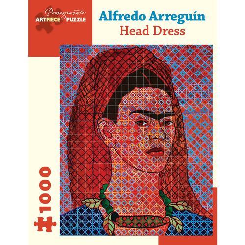 Alfredo Arreguin: Head Dress 1000-Piece Jigsaw Puzzle