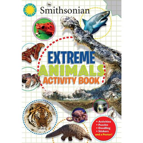 Smithsonian Extreme Animals Activity Book by Steve Behling and Rachel Bozek